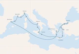 Italien,  Griechenland,  Türkei,  Spanien,  Frankreich